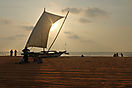 'Negombo Sunset' von Ruth Hase