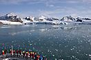 Gletscher im Magdalenen-Fjord