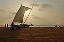 'Negombo Sunset' von Ruth Hase